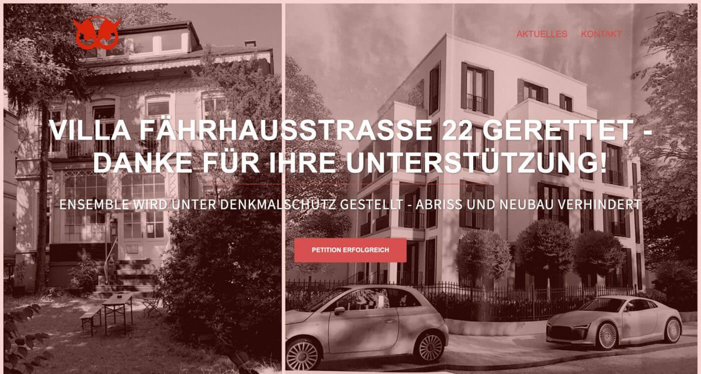 Fährhausstraße 22