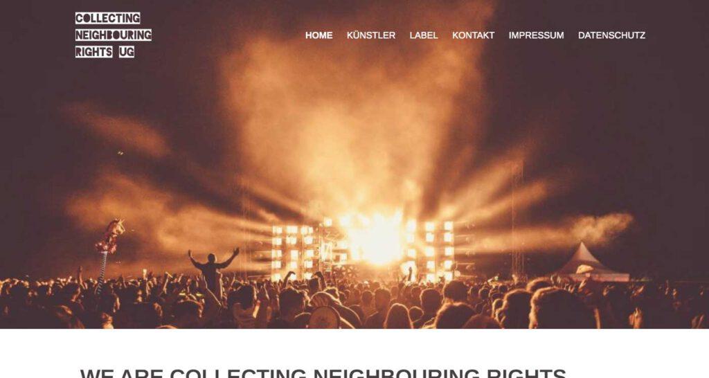 Collecting Neighbouring Rights UG