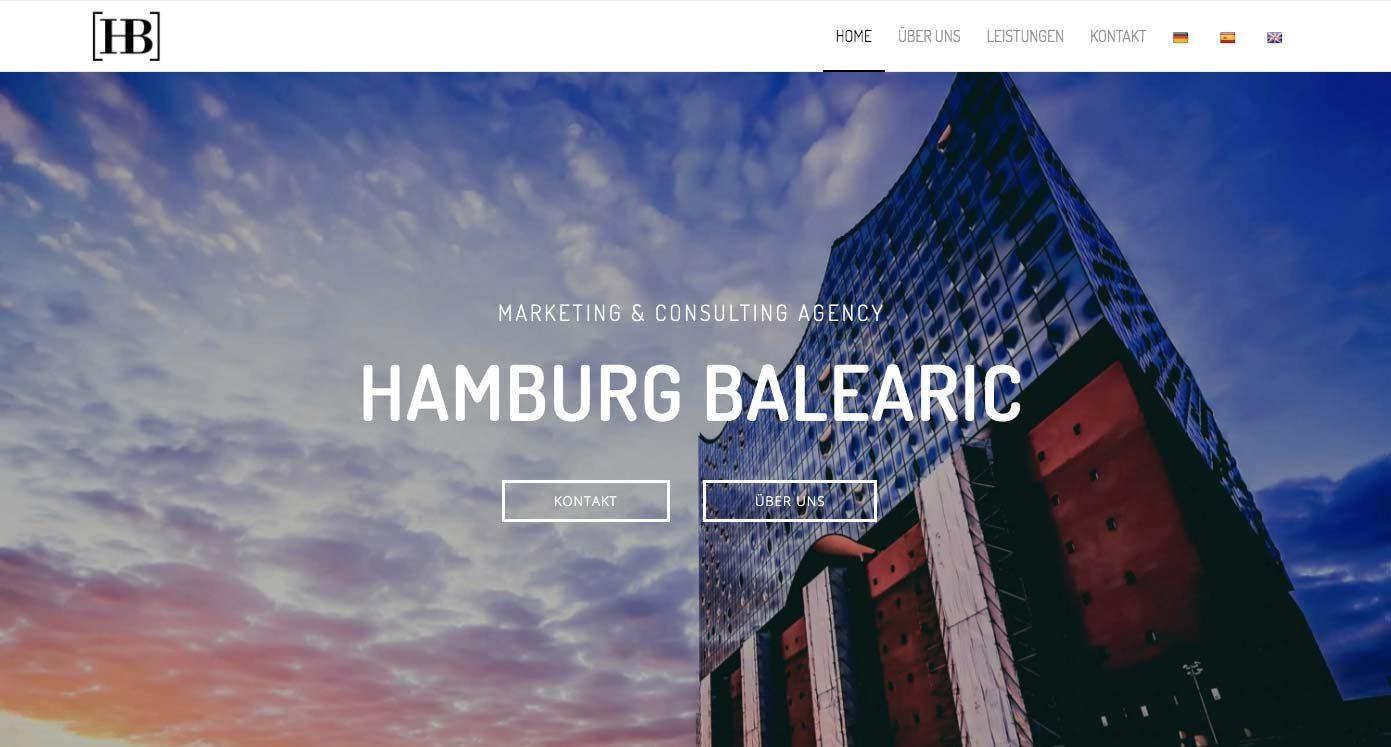 Hamburg Balearic - Webdesign Agentur in Hamburg